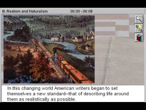 ▶ Realism and Naturalism (Literature of a Nation Divided & The American Renaissance Part 3) - YouTube