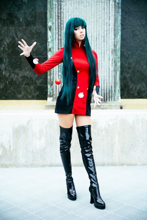 Sabrina from Pokemon Cosplay http://geekxgirls.com/article.php?ID=7036                                                                                                                                                                                 More