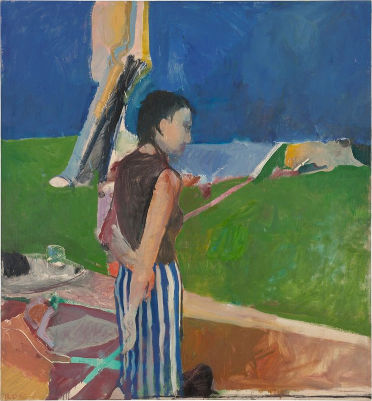 Richard Diebenkorn and the colours of California