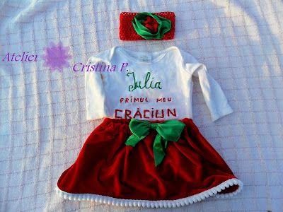 Atelier Cristina P.: Set pentru Craciun