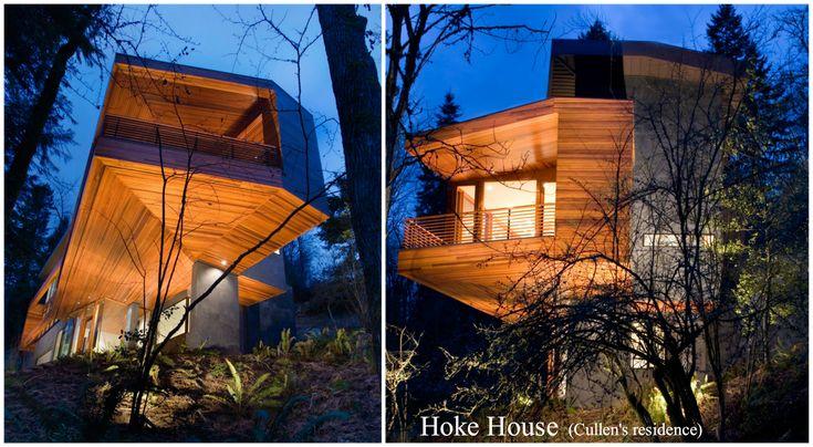 una   CasaSuMisura ... per  Loro!  : Case da Film: Twilight e la Hoke House