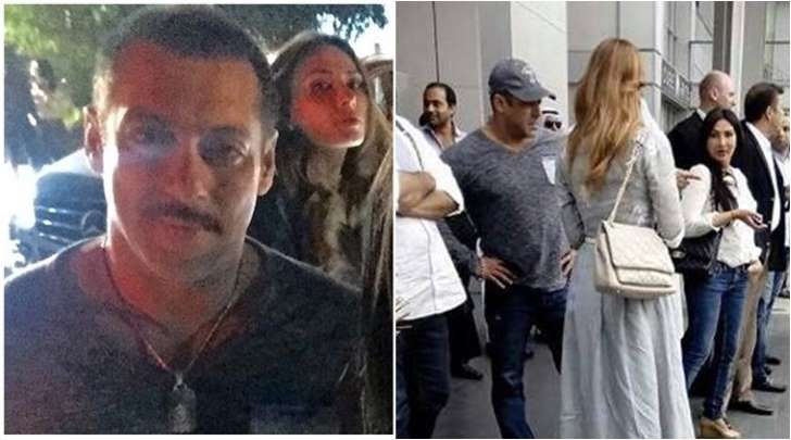 Salman Khan in Dubai, holidays with Lulia Vantur