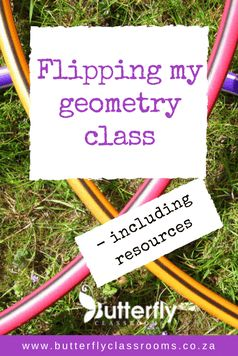 I took the plunge and tried my hand at flipping my classroom, just a little. And it worked like a charm.