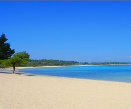 Paliouri Beach, Chalkidiki, Greece