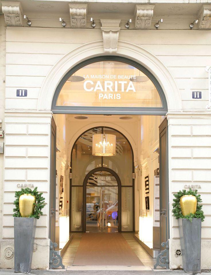 HAUTE BEAUTÉ HAS AN ADDRESS: 11 RUE DU FAUBOURG SAINT-HONORÉ Carita Paris #caritaparis #cosmetics #beauty
