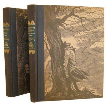 Check out this item at One Kings Lane! Jane Eyre & Wuthering Heights, S/2