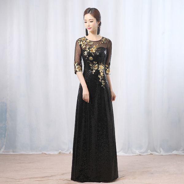 New hairstyle cheongsam dresses