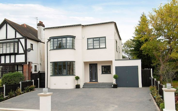 LOUGHTON, ESSEX   The author Ruth Rendell once lived in this elegant four-bedroom house in Essex. With four bedrooms and two bathrooms, it would be perfect for a family.
