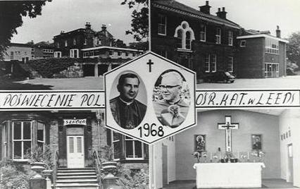 Poświęcenie Polskiego Ośrodka Katolickiego