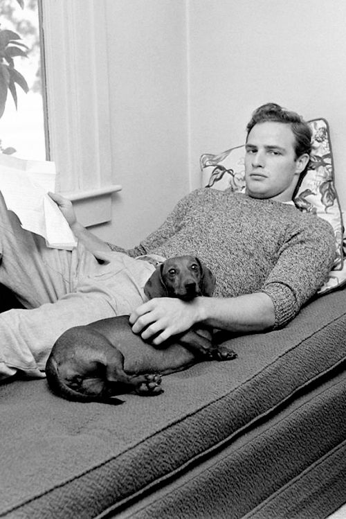 Marlon Brando photographed by Ed Clark for LIFE Magazine, 1949