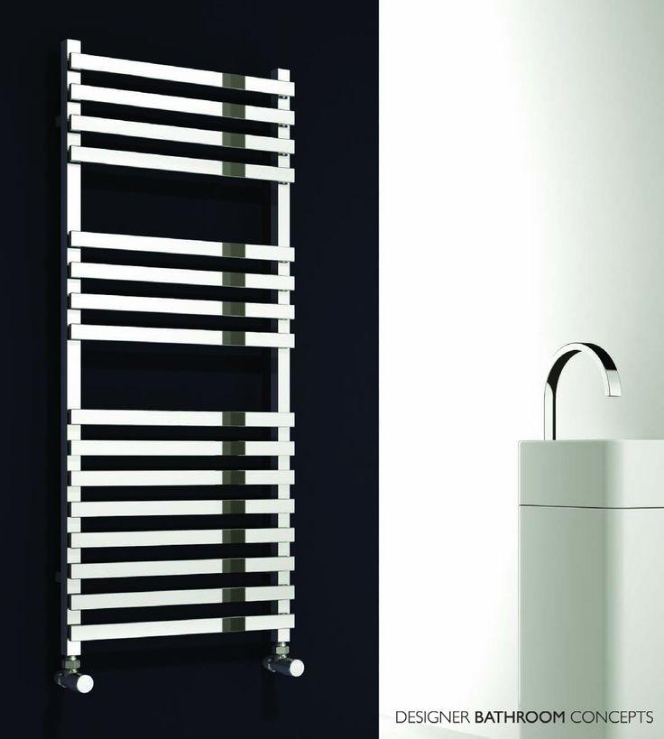 16 Best Heated Towel Rails Images On Pinterest  Bathroom Adorable Designer Heated Towel Rails For Bathrooms Review