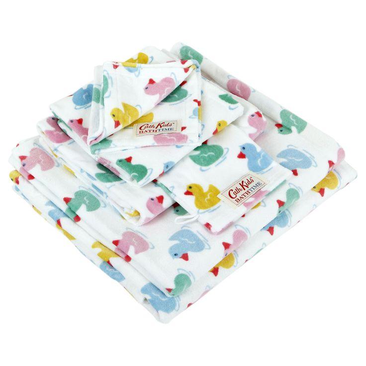 Rubber Ducks Towel  - Wash Mitt - 15x20cm from Cath Kidston