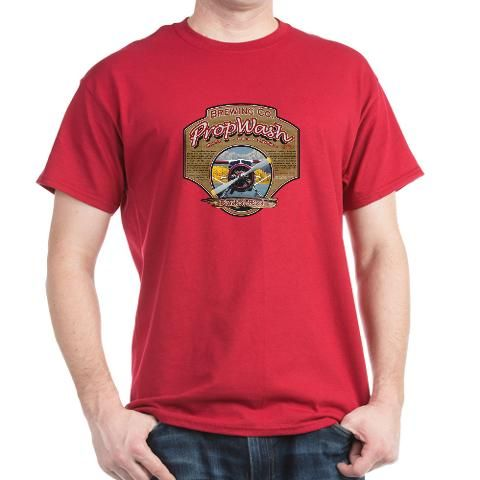 PW Brewing Co. Radial Red. Dark T-Shirt - Fashion Deals