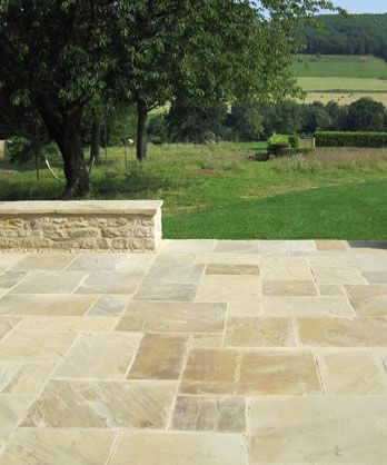 New riven Yorkstone - Flagstone suppliers Berkshire