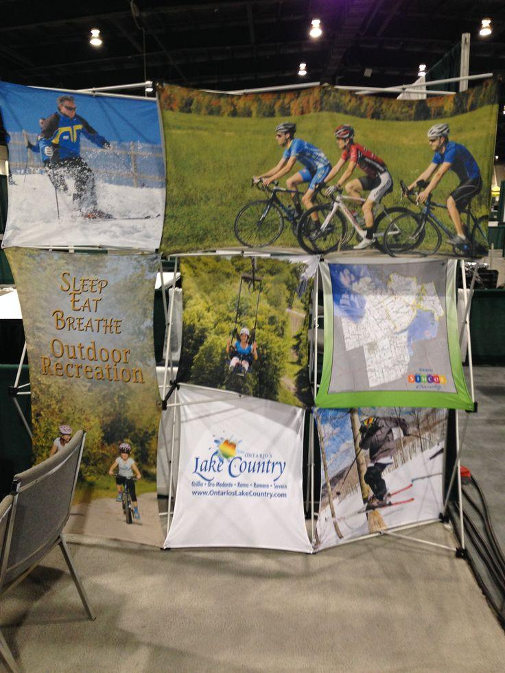 The Cycle Simcoe, Simcoe County and Ontario's Lake Country Booth
