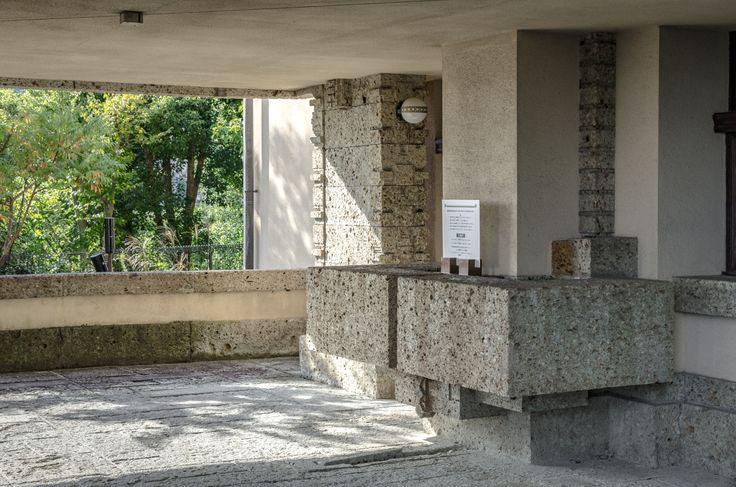 フランク・ロイド・ライト _ 旧山邑家住宅(ヨドコウ迎賓館) _ 1924 Yamamura House (Yodoko Guest House) _ Frank Lloyd Wright _ 1924