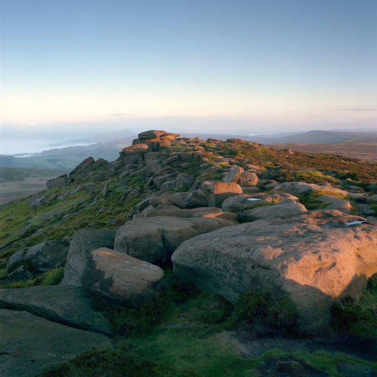 bellasecretgarden: Spring morning on Stanage Edge, Peak District, England by Michael Paynton on Flickr