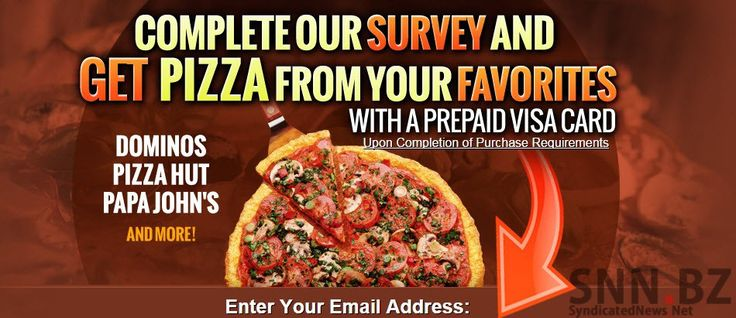 Free Pizza - Get Your Favorite Pizza Free Here
