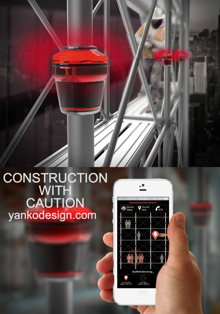 Construction workers are pretty brave. Being able to perform the kind of tasks they perform, especially at those heights. It's not an art, it's sheer courage. Read more at YankoDesign