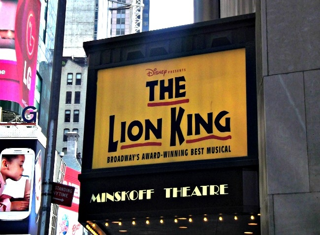 the lion king on broadway #nyc