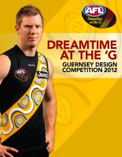 Design the Dreamtime guernsey - Official AFL Website of the Richmond Football Club