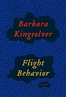 Flight Behavior by Barbara Kingsolver:  On the way to begin an extramarital affair, a woman witnesses what she deems an environmental miracle. She then learns her in-laws plan to clear-cut the forest and is determined to convince them to survey the land before they begin. --Stacy