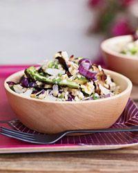 Barley and Grilled-Vegetable Salad - Barley Recipes on Food & Wine