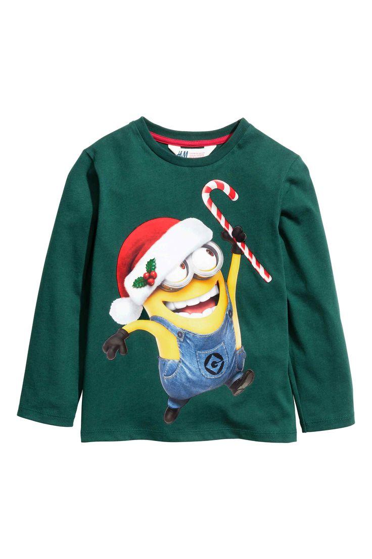 Minionkowa bluzka dziecięca w H&M
