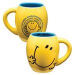 "Vandor - ""Mr. Men Little Miss """"Little Miss Sunshine"""" 18 oz. Oval Ceramic Mug"""