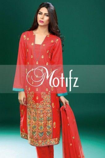 MOTIFZ PRODUCT: MWU00979-CARROT, RETAIL PRICE: 4490, ITEM TYPE: KHADDAR