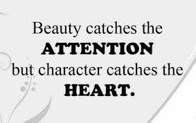 Beauty vs. character