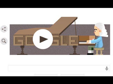 Animated Google Doodle - Inventor of the Piano Bartolomeo Cristofori