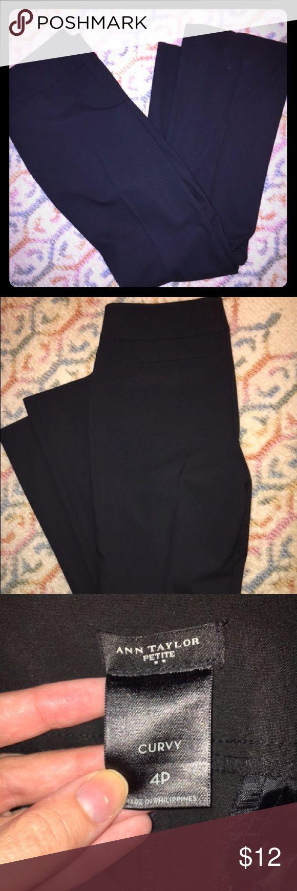 Ann Taylor petite black dress pants Like new black Ann Taylor petite dress pant. Ann Taylor Pants