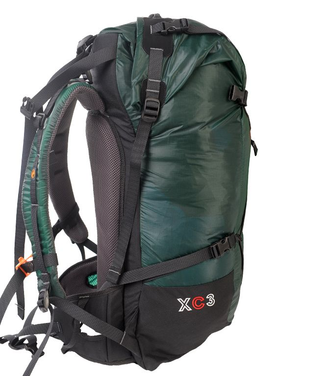 PAJAK XC3 - UL Backpack for Light&Fast trekkers / Weight: 765[g], Volume: 42[l] #pajaksport #rolltop