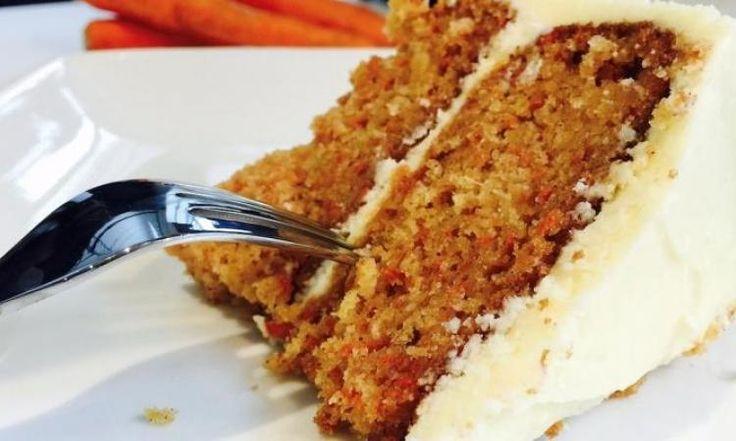 Gâteau aux carottes et ananas