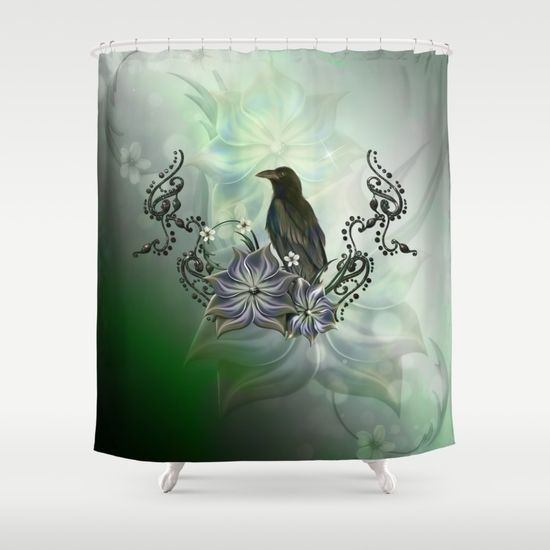 customize your bathroom decor with unique shower curtains designed by artists around the world