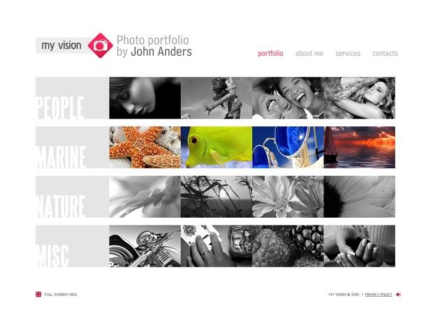 70 Grid Based Portfolio Web Designs
