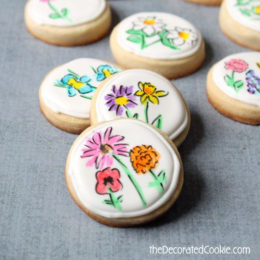 17 best images about cookies  edible marker on pinterest