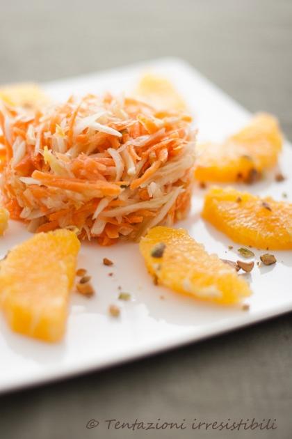 insalata fresca di finocchi carote e arance        #recipe #juliesoissons