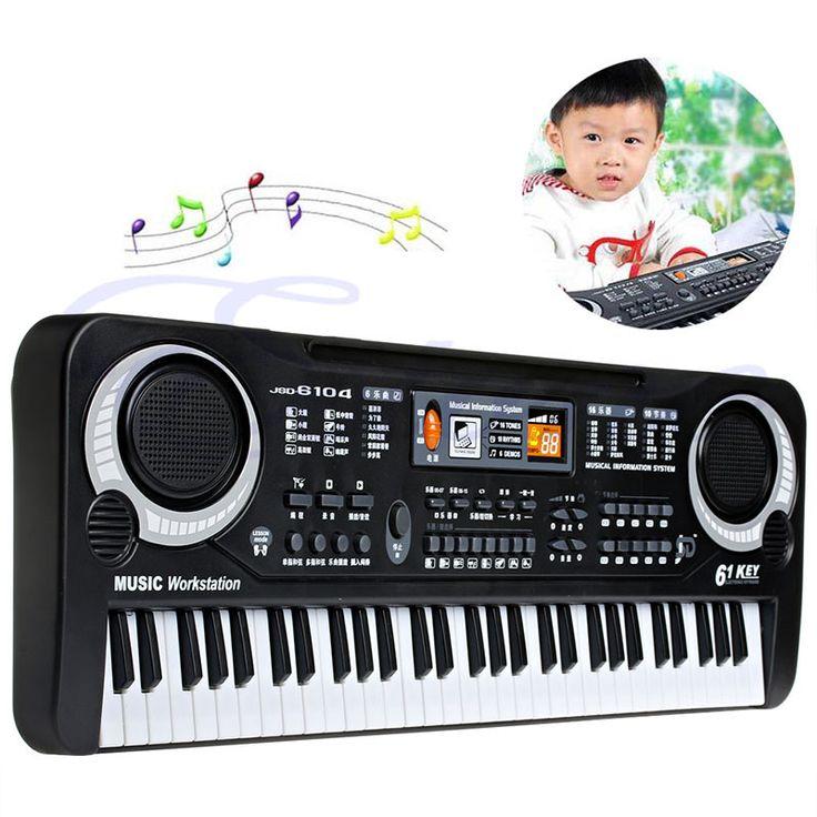 61 Keys Digital Music Electronic Keyboard Key Board Gift Electric Piano Gift Education Electronic Keyboards Pianos