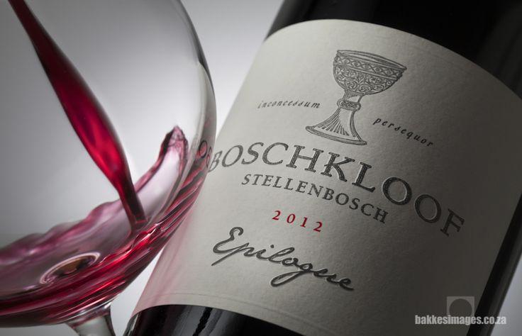 Wine Photography for Marketing & Advertising: Boschkloof Epilogue 2012. www.bakkesimages.co.za