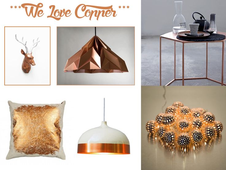 Copper interiors