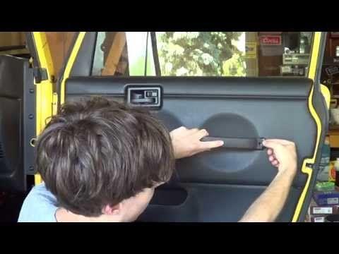 "Jeep Wrangler TJ Update #48 ""Removing & Painting Door Panels"" - YouTube"