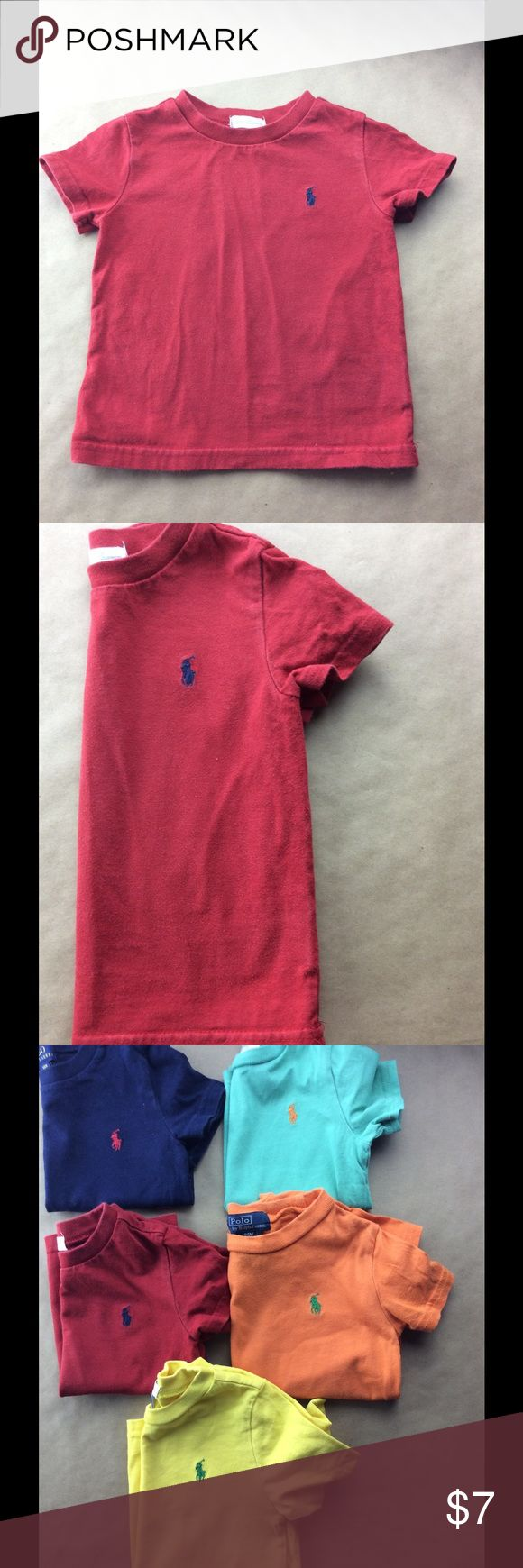 Polo Tee shirt Red classic Polo Tee Polo by Ralph Lauren Shirts & Tops Tees - Short Sleeve