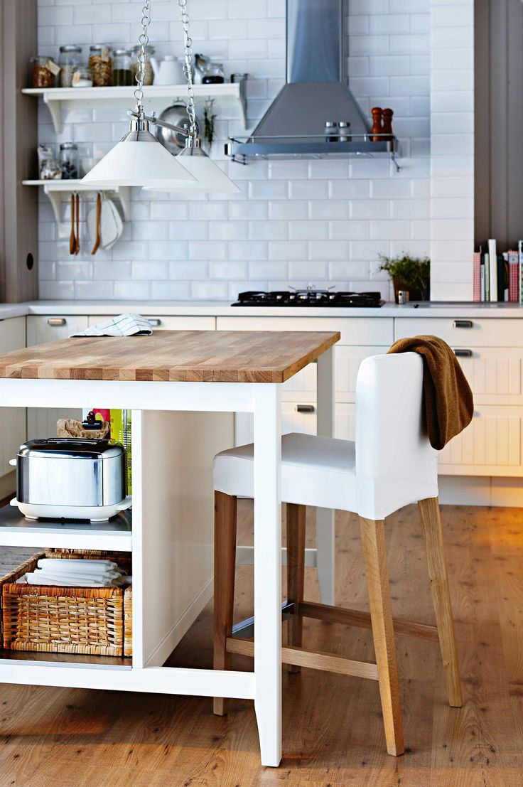 11 space saving ideas for your kitchen features the for Small kitchen space saving ideas