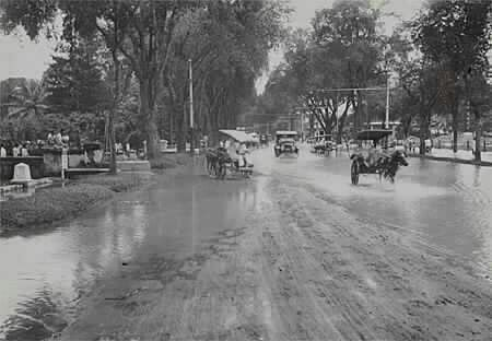 Banjir di Merdeka Barat, 1920