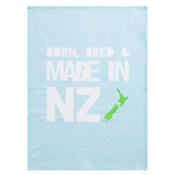 Linens & More Born, Bred & Made In NZ Tea Towel | Koop.co.nz