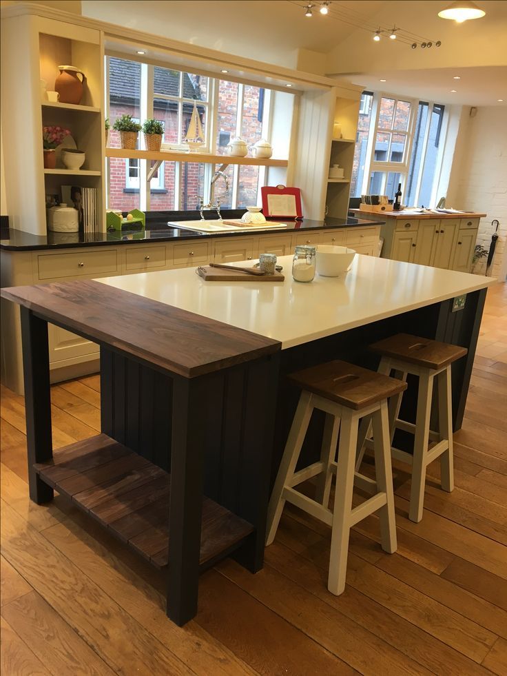 Clic Framed Cabinetry From John Lewis Of Hungerford This Kitchen Island Has An Open
