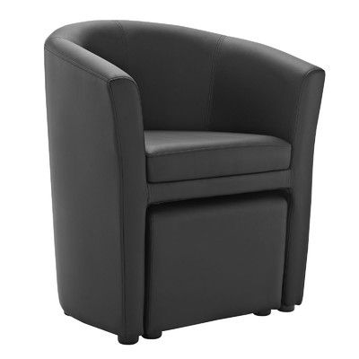 Modway Divulge Arm Chair And Ottoman Set U0026 Reviews | Wayfair