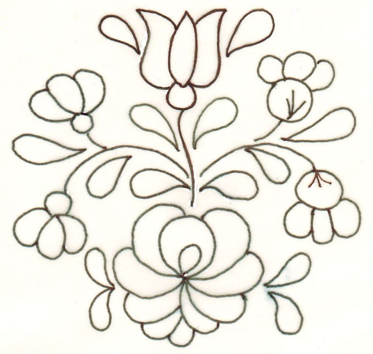 49 best bordados mexicanos images on Pinterest | Embroidery patterns ...